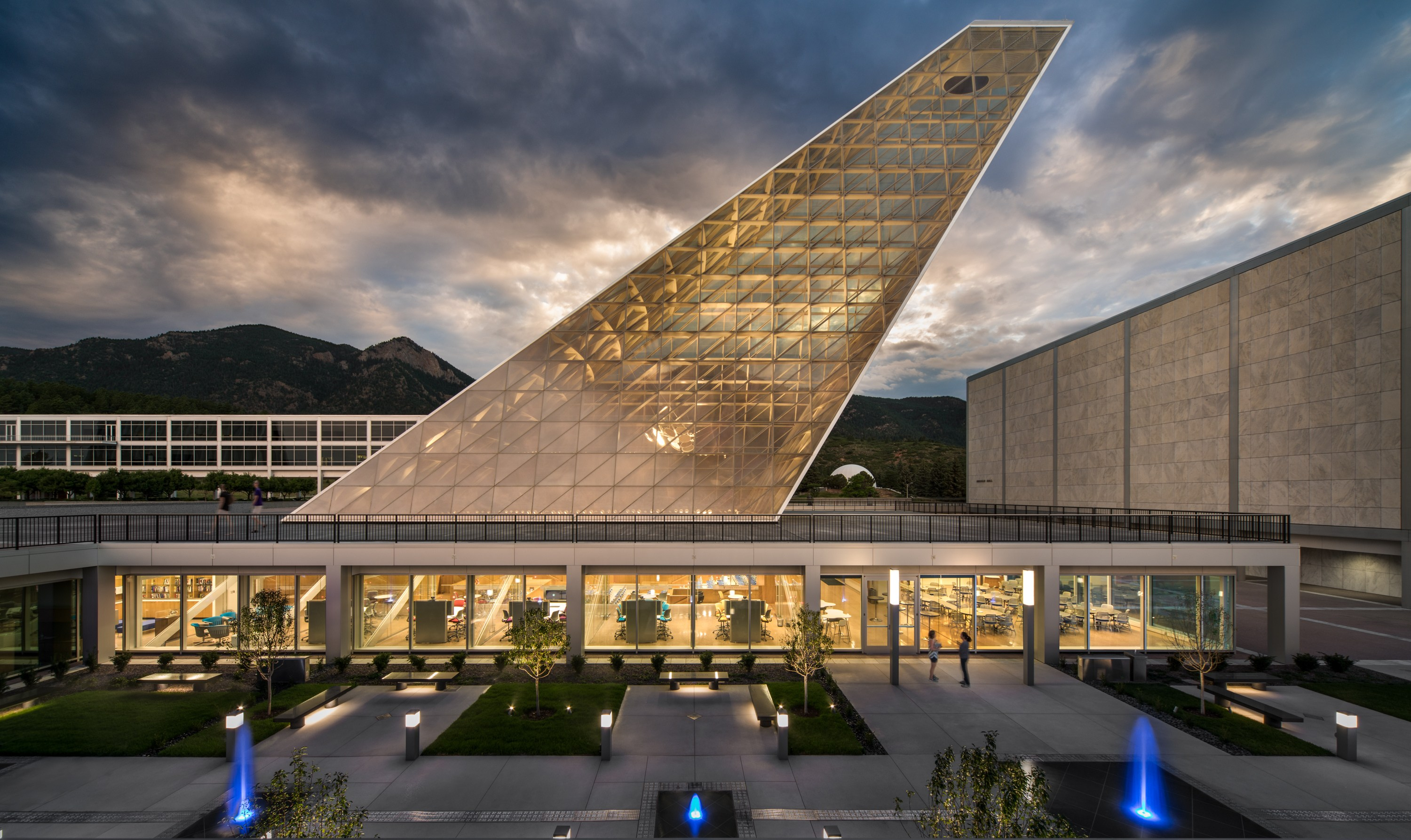 USAFA Center for Leadership & Development Landscaping Projects