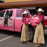 Pikes Peak or Bust Rodeo Girls of the West