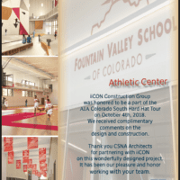 AIA South Colorado Hard Hat Tour at FVS Athletic Center